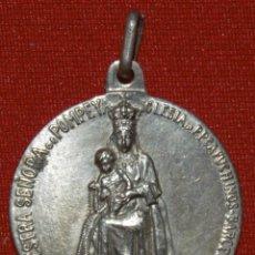 Antigüedades: MEDALLA ANTIGUA - NUESTRA SEÑORA DE POMPEYA (BARCELONA). Lote 289195448