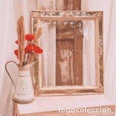 Antigüedades: MARCO CON ESPEJOS ANTIQUE UNIQUE. Lote 289210313