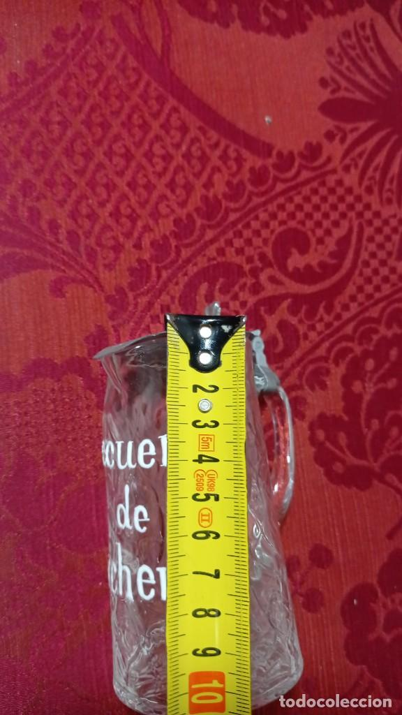 Antigüedades: Antigua jarra jarrita recuerdo de Archena nombre esmaltado - Foto 2 - 289262123