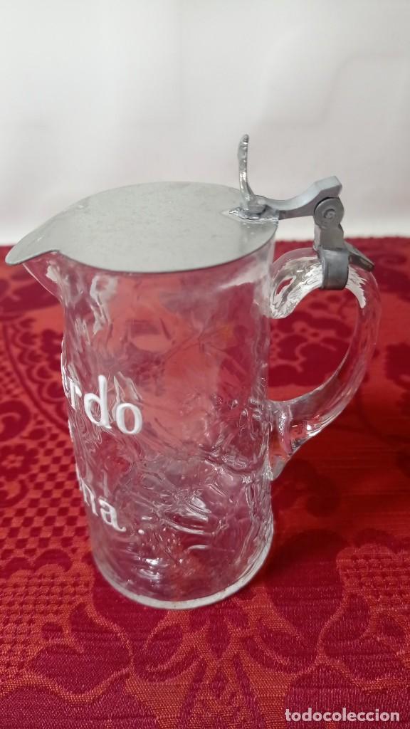 Antigüedades: Antigua jarra jarrita recuerdo de Archena nombre esmaltado - Foto 3 - 289262123