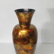 Antigüedades: GRAN JARRÓN - CRISTAL DE MURANO - VINTAGE - ALTURA 75 CM. Lote 289286163