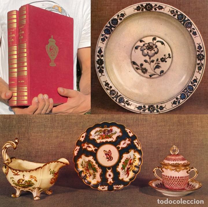LA PORCELANA EN EUROPA - DESDE SUS ORÍGENES HASTA PRINCIPIOS DEL SIGLO XIX - CERÁMICA (Antigüedades - Porcelanas y Cerámicas - Alcora)
