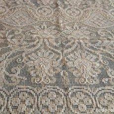 Antigüedades: CUBRE HECHO A MANO. Lote 289325473
