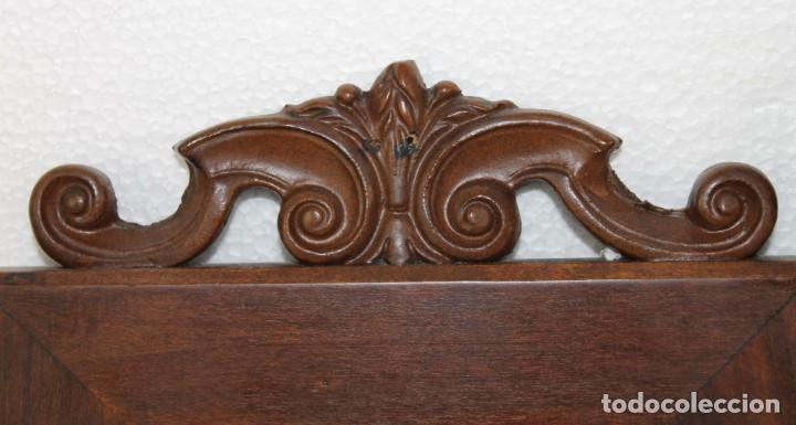 Antigüedades: Dos marcos de madera tallada - Foto 2 - 289330558