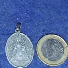 Antigüedades: MEDALLA DE LA VIRGEN DE TIGES,ALMERIA.1949.. Lote 289356088