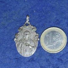 Antigüedades: ANTIGUA MEDALLA DE CORAZÓN DE JESÚS.. Lote 289356928