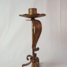 Antigüedades: CANDELABRO HIERRO. Lote 289423893