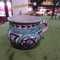 Antiguidades: PEQUEÑO TAZÓN CERÁMICA TERUEL, GORRIZ. Lote 289425833