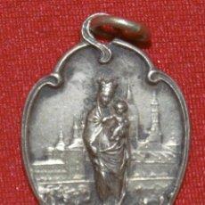 Antigüedades: MEDALLA DE LA VIRGEN DEL PILAR. Lote 289523593
