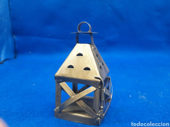 Antigüedades: Pequeño farolillo miniatura - Foto 2 - 289590778