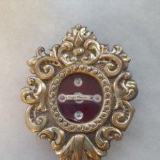 Antigüedades: RELICARIO PLATA DE LA VIRGEN MACARENA. ORFEBRE DE SEVILLA. Lote 289664668