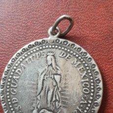 Oggetti Antichi: MEDALLA MEXICANA PLATA 1804 NUESTRA SEÑORA DE GUADALUPE. Lote 289698343