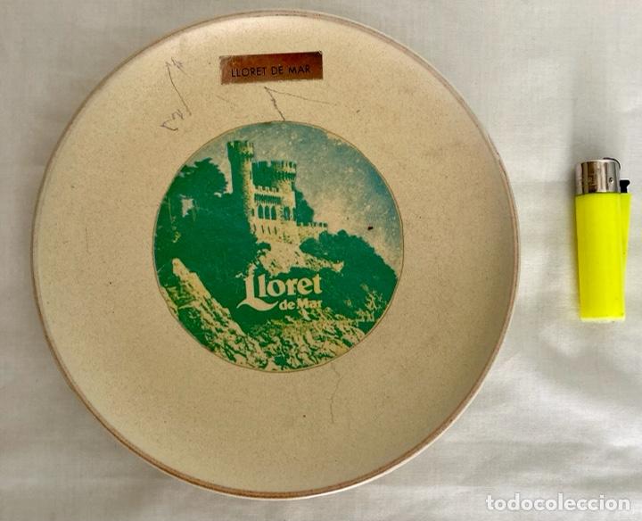 PLATO DE PORCELANA, LLORET DE MAR , DE ANTIGUO (Antigüedades - Porcelanas y Cerámicas - Otras)