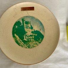 Antigüedades: PLATO DE PORCELANA, LLORET DE MAR , DE ANTIGUO. Lote 289714888