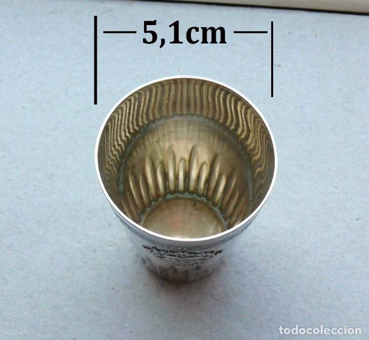 Antigüedades: Antiguo vaso de plata .Suiza. 1911 - Foto 6 - 289739428