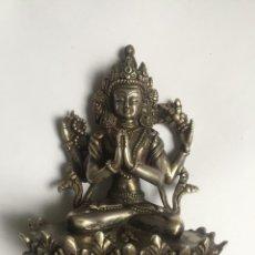 Antigüedades: THE BUDDHA STATUE OF TIBET AVALOKITESHVARA IS RARE. Lote 289752928