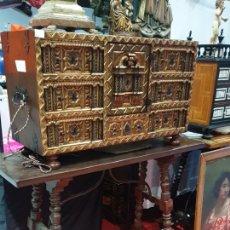 Antigüedades: BARGUEÑO ARQUETA VARGAS. Lote 289765358