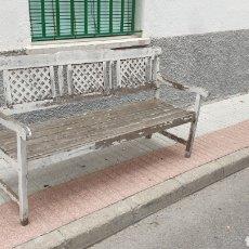 Antigüedades: CONJUNTO DE MADERA. Lote 289768133