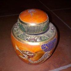 Antigüedades: TARRO DE PORCELANA JAPONESA. Lote 289790373