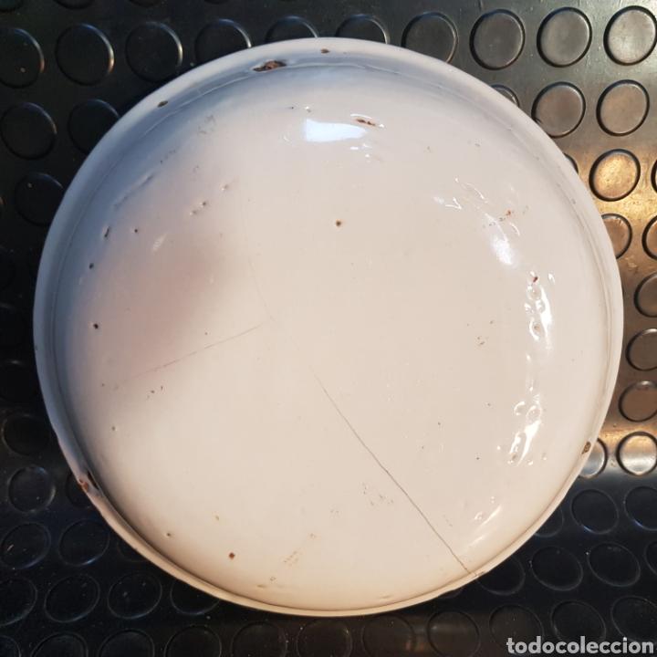 Antigüedades: Plato hondo de cerámica de Manises SXVIII- SXIX - Foto 4 - 289810453