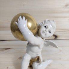 Antigüedades: NIÑO ÁNGEL ALGORA (FALTA UN DEDO). Lote 289847828