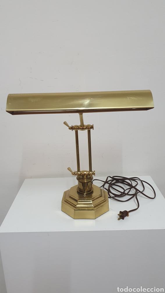 PRECIOSA LÁMPARA AMERICANA AÑOS 70. (Antigüedades - Iluminación - Lámparas Antiguas)