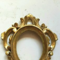 Antigüedades: ANTIGUO MARCO CORNUCOPIA SIGLO XIX , MADERA TALLADA. Lote 289893558
