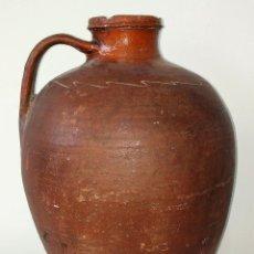 Antigüedades: CÁNTARO. CERÁMICA. DECORACIÓN INCISA. CATALUNYA. ESPAÑA. SIGLO XIX. Lote 290039278