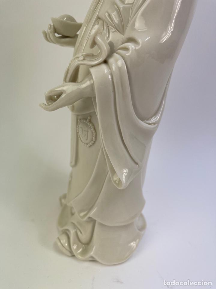 Antigüedades: FIGURA ORIENTAL DE PORCELANA. FINALES S.XIX- PRINCIPIOS S.XX. - Foto 4 - 290055478
