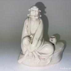 Antigüedades: FIGURA ORIENTAL DE PORCELANA. FINALES S.XIX- PRINCIPIOS S.XX.. Lote 290055693