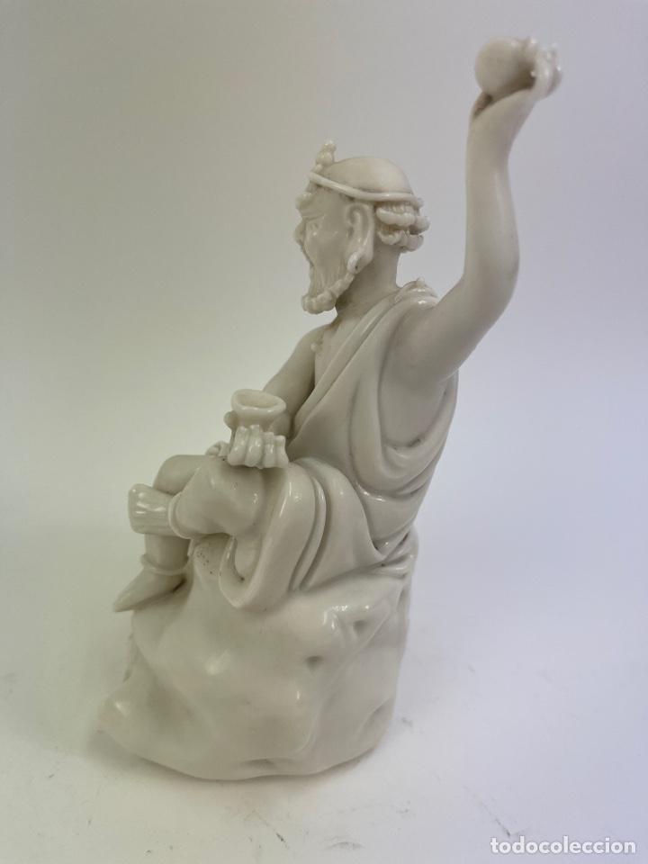 Antigüedades: FIGURA ORIENTAL DE PORCELANA. FINALES S.XIX- PRINCIPIOS S.XX. - Foto 3 - 290056748