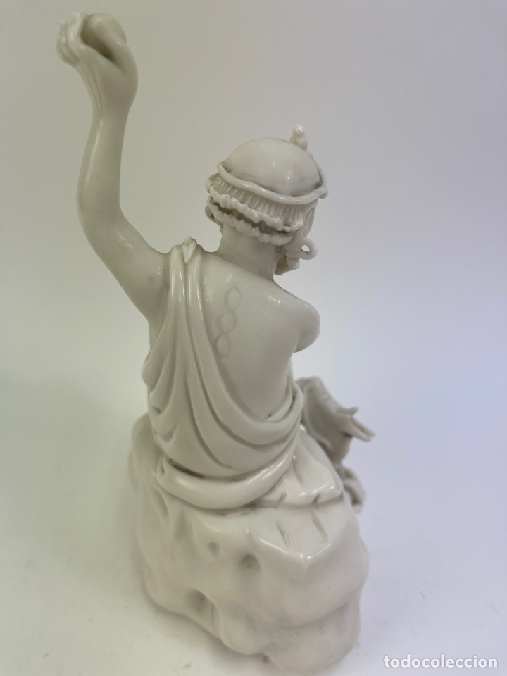 Antigüedades: FIGURA ORIENTAL DE PORCELANA. FINALES S.XIX- PRINCIPIOS S.XX. - Foto 4 - 290056748