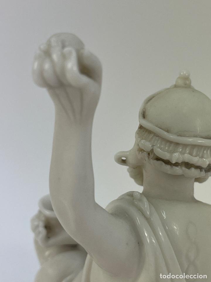 Antigüedades: FIGURA ORIENTAL DE PORCELANA. FINALES S.XIX- PRINCIPIOS S.XX. - Foto 5 - 290056748