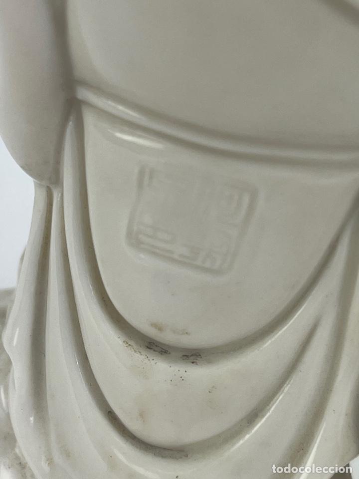 Antigüedades: FIGURA ORIENTAL DE PORCELANA. FINALES S.XIX- PRINCIPIOS S.XX. - Foto 6 - 290056968