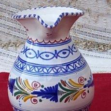 Antigüedades: JARRA VINATERA EN CERAMICA PINTADA Y VIDRIADA DE TALAVERA DE LA REINA ( TOLEDO ). Lote 290296358