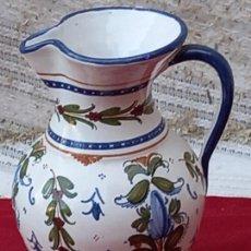 Antigüedades: JARRA VINATERA EN CERAMICA PINTADA Y VIDRIADA DE TALAVERA DE LA REINA ( TOLEDO ). Lote 290296688