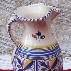 Antigüedades: JARRA VINATERA EN CERAMICA PINTADA Y VIDRIADA - SANGUINO - TOLEDO.. Lote 290297063