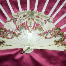 Oggetti Antichi: MARAVILLOSO VARILLAJE COMPLETO 1890 APROXIMADAMENTE. Lote 290732383