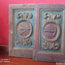 Oggetti Antichi: RETABLO, FRAGMENTOS DE RETABLO DEL SXVIII. Lote 290787323