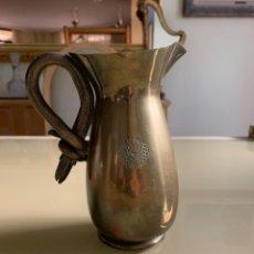 Antigüedades: ANTIGUA JARRA DE BRONCE. Lote 290846333