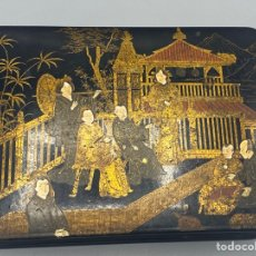 Antigüedades: CAJA DE MADERA CHINA. Lote 290862053