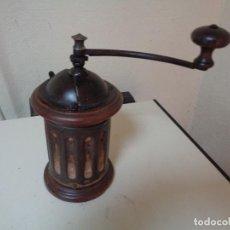 Antigüedades: MOLINILLO DE CAFÉ REDONDO. Lote 291313138