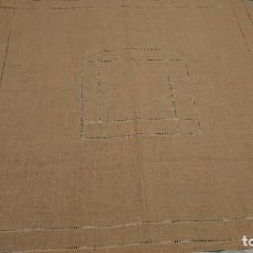Antigüedades: MANTELITO DE LINO. Lote 291325693