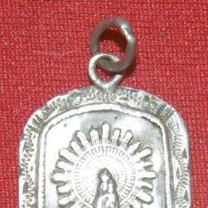 Antiguidades: MEDALLA ANTIGUA DE LA VIRGEN DEL PILAR. Lote 291544038