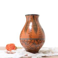 Antigüedades: JARRÓN DE CERÁMICA DE LA BISBAL DE VILA CLARA. Lote 292070113