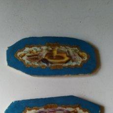 Antigüedades: FANTÁSTICAS PLACAS DE PORCELANA DE RELOJ S. XVIII PINTADAS A MANO, FIRMADAS. EPOCA LUIS XVI FRANCIA. Lote 292174913
