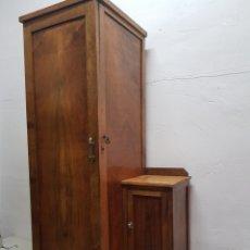 Antigüedades: ARMARIO MODERNISTA DE ENTRADA DE CABALLERO, SIGLO XIX. Lote 292273608