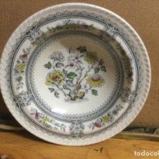 Antigüedades: PLATO HONDO DE 16 CMS , DORSET INGLATERRA. Lote 292339968