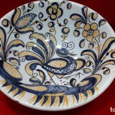 Antigüedades: TALAVERA TRICOLOR. Lote 292612558