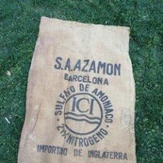 Antigüedades: SACO DE ARPILLERA S.A. AZAMON - BARCELOAN. Lote 292613838
